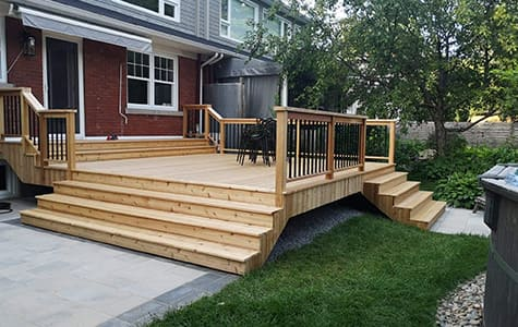 Construction patio mascouche